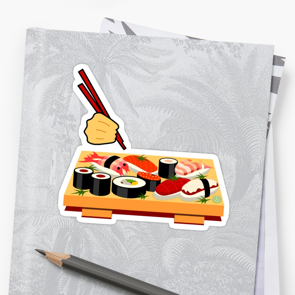 Sushi plate... by Nuh Sarche