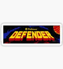 Defender - Williams Arcade Game - 1981 Sticker