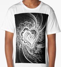 Crazy Heart Long T-Shirt