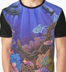 Unterwasser Korallenriff Grafik T-Shirt