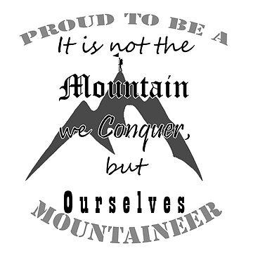 Mountaineer pride by NarayanaDevS