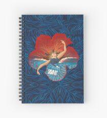 Flower Hawaii Pele Spiral Notebook