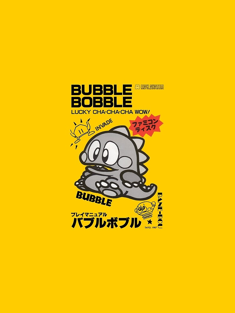 Bubble Bobble Famicom by 16TonPress