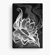 Lotus Opening Canvas Print