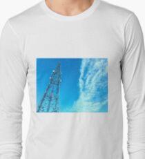Clouds + Tower Long Sleeve T-Shirt