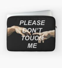 Adam's Creation (Please Don't Touch Me) Laptop Sleeve