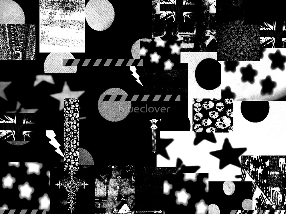 Abstract Patterns Black and White by blueclover