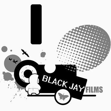Black Jay Films  T-shirt 001 by BlackJayFilms
