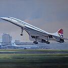 Concorde by defineart
