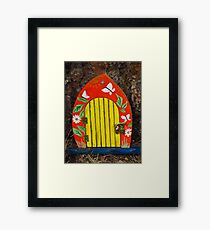 Welcome To Pixieland Framed Print