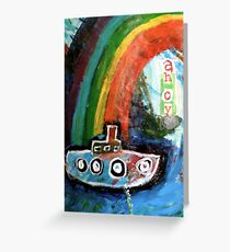 ahoy there  Greeting Card
