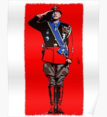 General George S Patton Poster