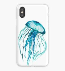 Watercolor Jellyfish iPhone Case/Skin