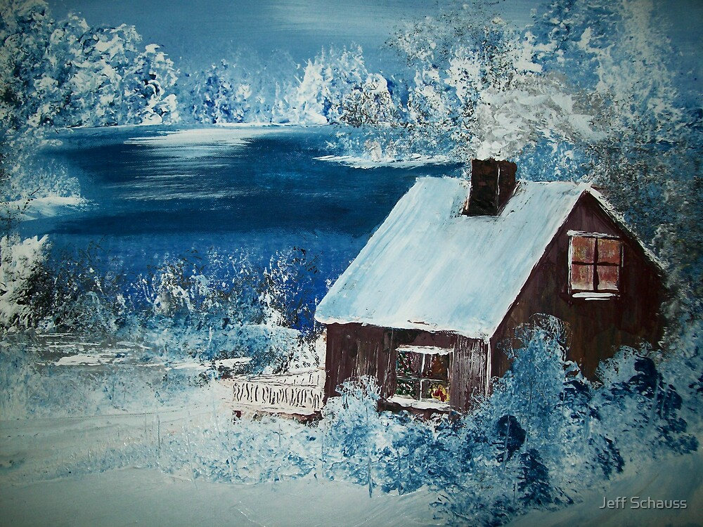 Christmas at The Cabin by Jeff Schauss