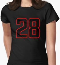 Number 28 (1-99) T-Shirt