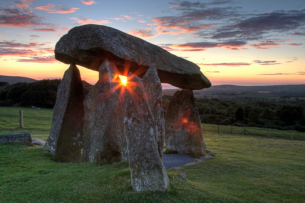 Neolithic Sunset by TimKing