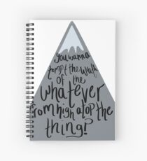 West Wing Toby Wrath of the Whatever Spiral Notebook