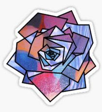 Rose (Sampled Bubble Gum + StarryNight Omage) Geometry Sticker