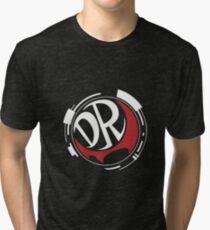Danganronpa! DR (White) Tri-blend T-Shirt