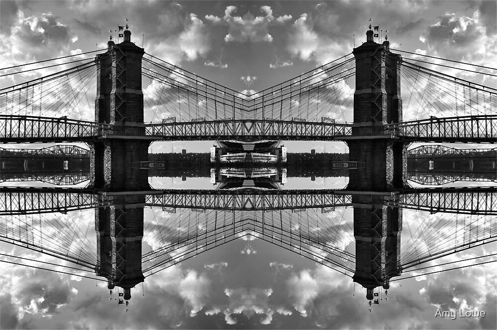 Suspension Bridge by Amy Lowe
