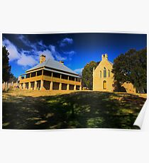 Shadows Of The Past - Hartley Historic Park - The HDR Series Poster