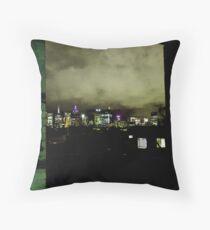 city dwellings Throw Pillow