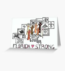 Florida Strong Notecards for Hurricane Relief Greeting Card