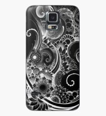 Flowing Flowers Case/Skin for Samsung Galaxy