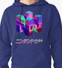 Nintendo 64 Vaporwave Pullover Hoodie