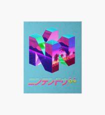 Nintendo 64 Vaporwave Art Board