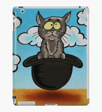 Magritte Cat in The hat Parody iPad Case/Skin