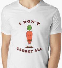 I Don't Carrot All Men's V-Neck T-Shirt