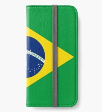 Brazil Flag Products iPhone Wallet/Case/Skin