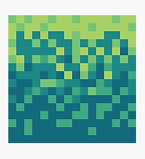 Pixel Art Photographic Print