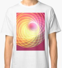 Glowing Spiral Classic T-Shirt