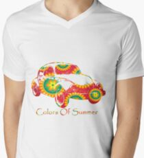 colors of summers | Car with red pattern  T-Shirt