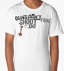 Shot First Long T-Shirt