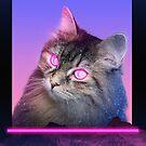 Neon Cat by sjolivieri