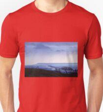 Landscape across Chesil Beach and Abbotsbury Unisex T-Shirt
