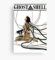 ghost in the shell by remsoun Canvas Print
