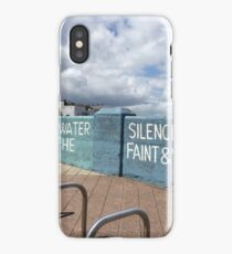painted wall in ireland iPhone Case/Skin