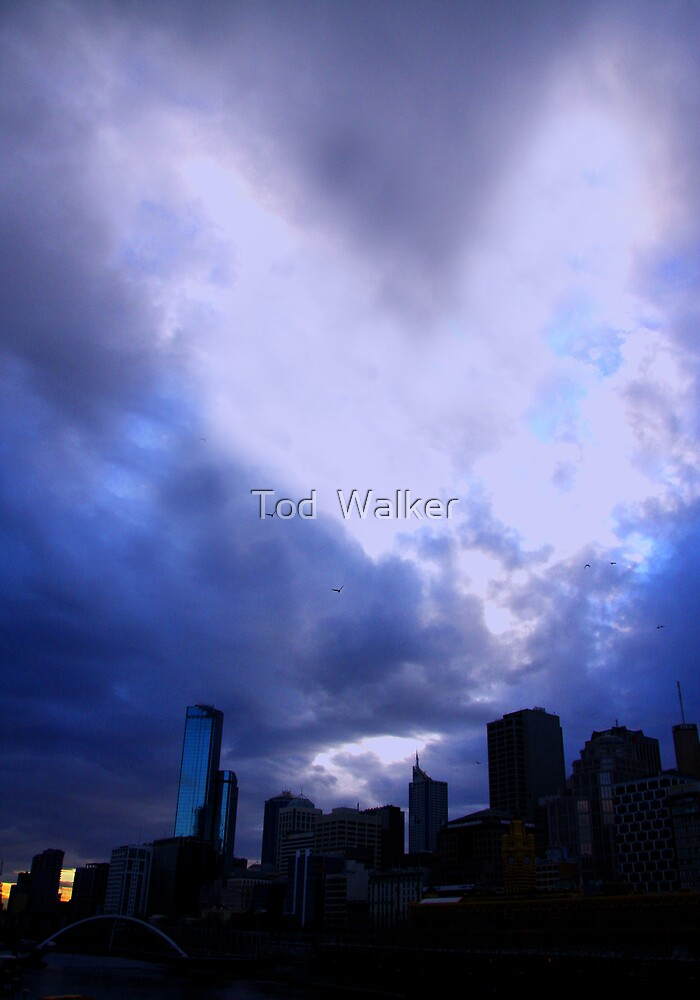 love over melbourne by Tod  Walker