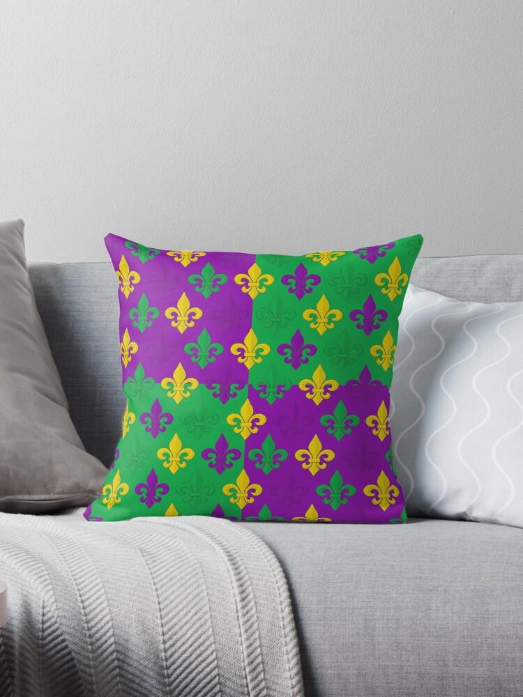 Mardi Gras Fleur-de-Lis Pattern by DebiDalio
