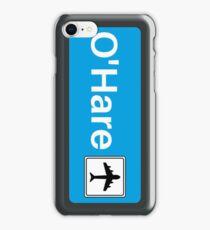 CTA Blue Line OHare Display iPhone Case/Skin