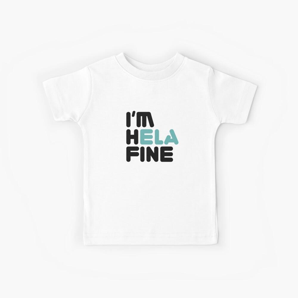 HELA FINE [Roufxis - RB] Camiseta para niños