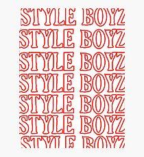 STYLE BOYZ Photographic Print