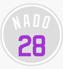 "Nolan Arenado ""Nado"" Players Weekend Sticker"