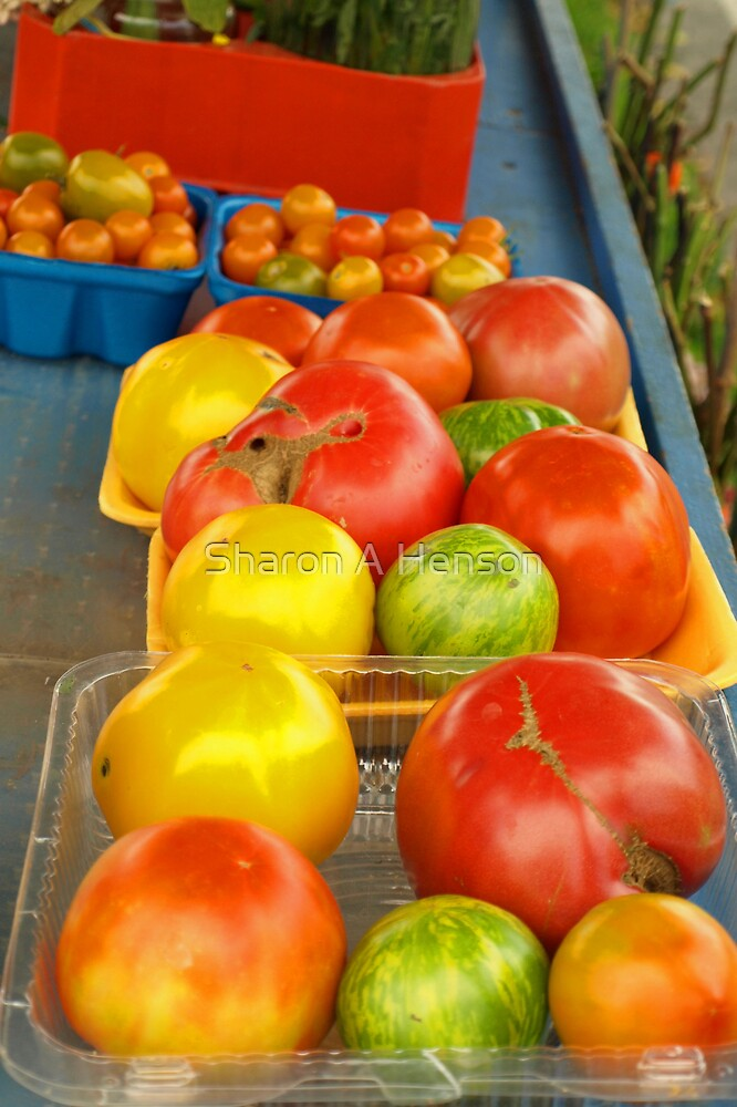 FARM STAND TOMATOES by Sharon A. Henson