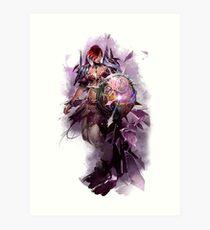 Guild Wars 2 - Chronomancer Art Print