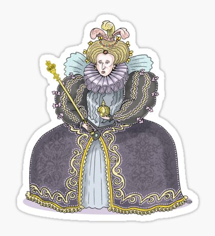 Queen Elizabeth I Sticker